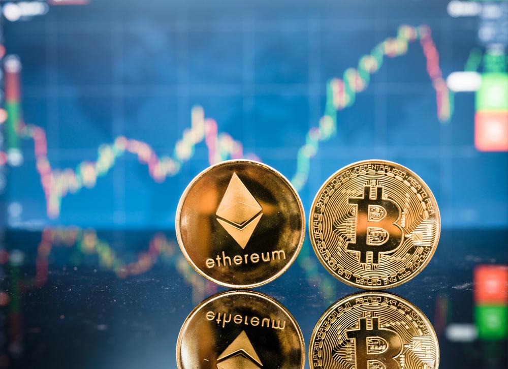 эфириум и биткоин